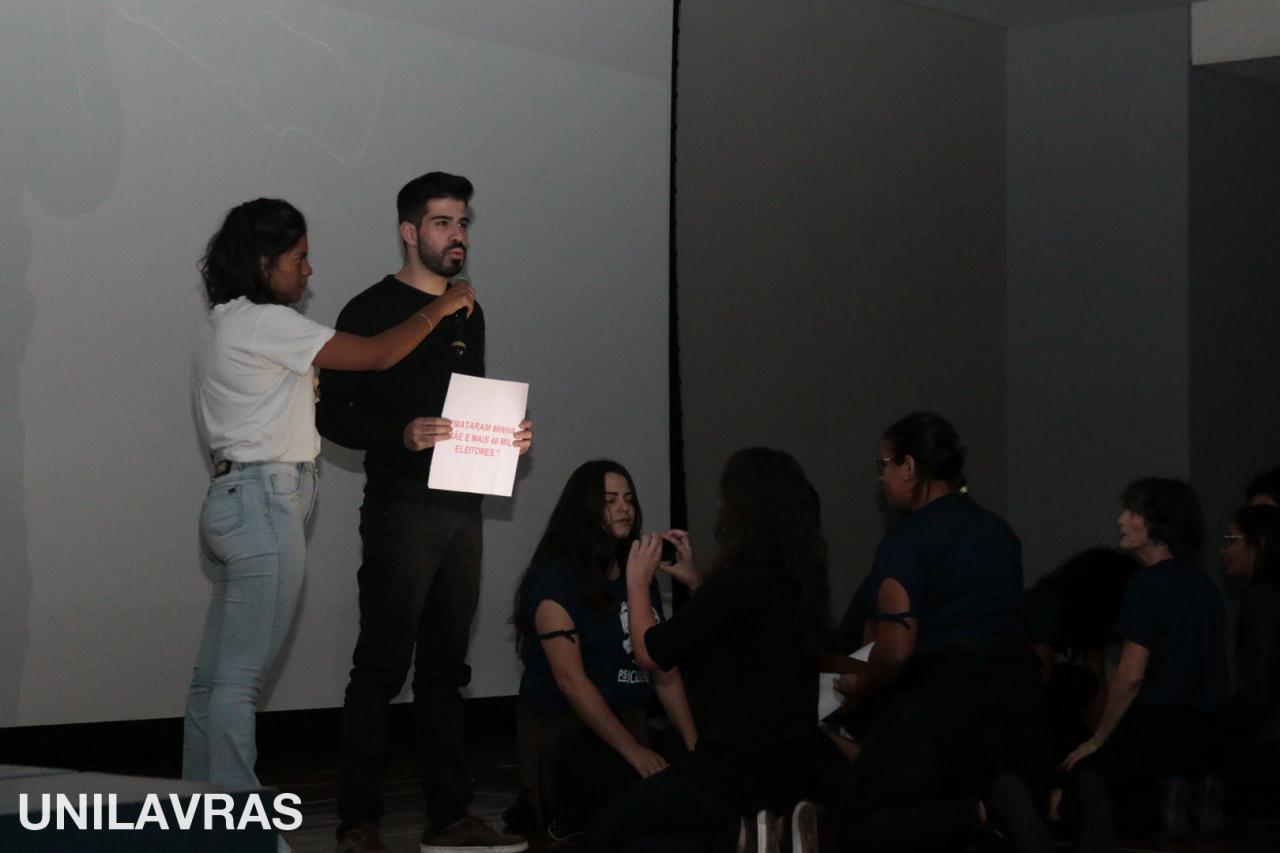 UNILAVRAS - Café Cultural Direitos HUmanos