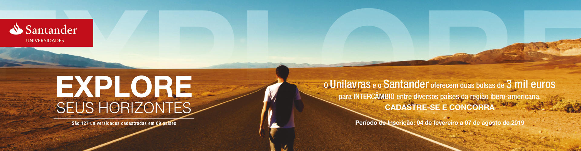 Banner site Ibero Americana Santander